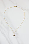 Lucky Horseshoe Necklace- Gold