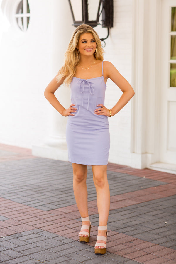 Don't Forget Dress- Periwinkle