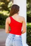 American Summer Bodysuit- Red