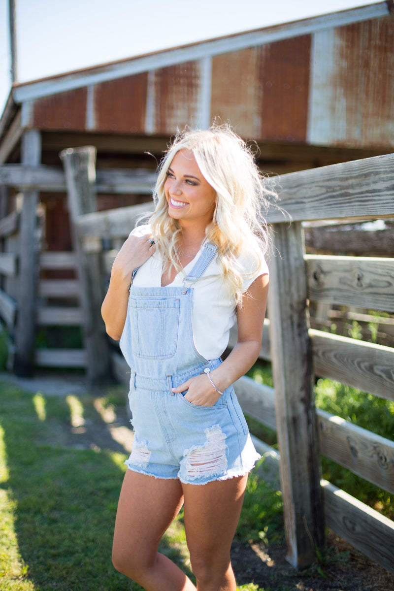 Sunday Funday! Denim Overalls
