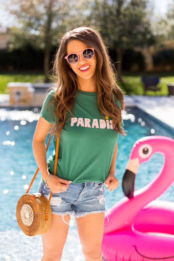 Ban.do Paradise Tee- Green