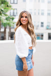 Summer In Savannah Top- White
