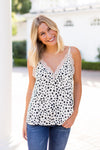 Cookies & Cream Lace Tank- Cream