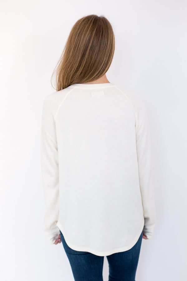 Cabin Cozy Sweater - Cream