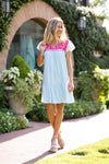 The Hadley Dress - Light Blue