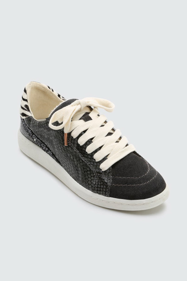 Dolce Vita Nino Sneakers- Charcoal Snake