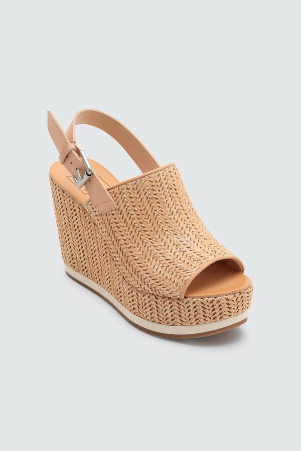 Dolce Vita Shan Wedges- Natural Raffia