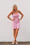 At The Seashore Dress - Pink