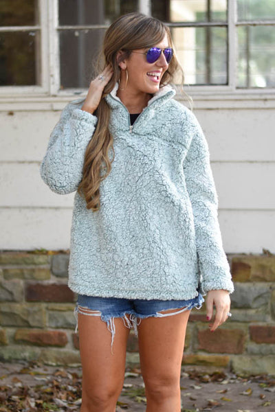By The Fire Pullover