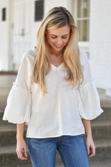 Perfectly Puffed Sleeve Top