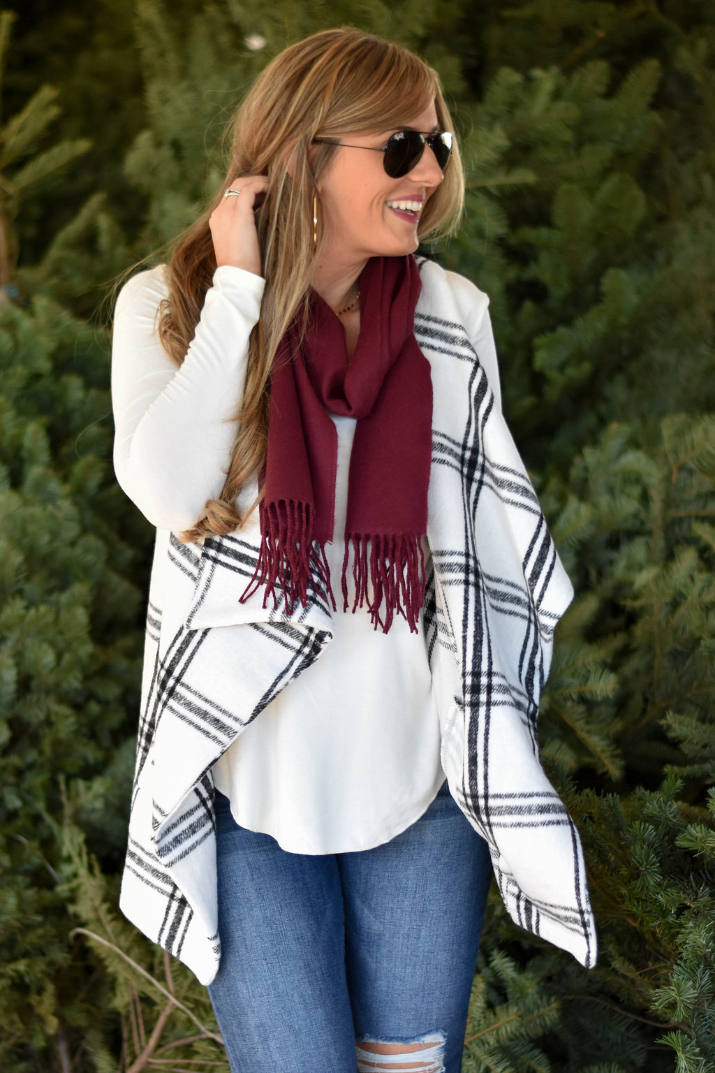 Mulled Wine Scarf