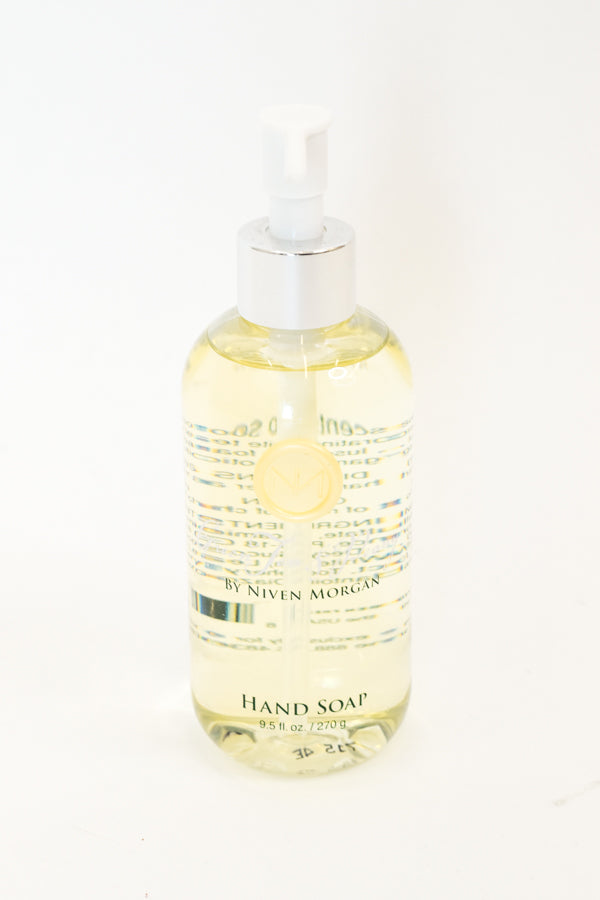 Niven Morgan Green Tea and Peony Hand Soap