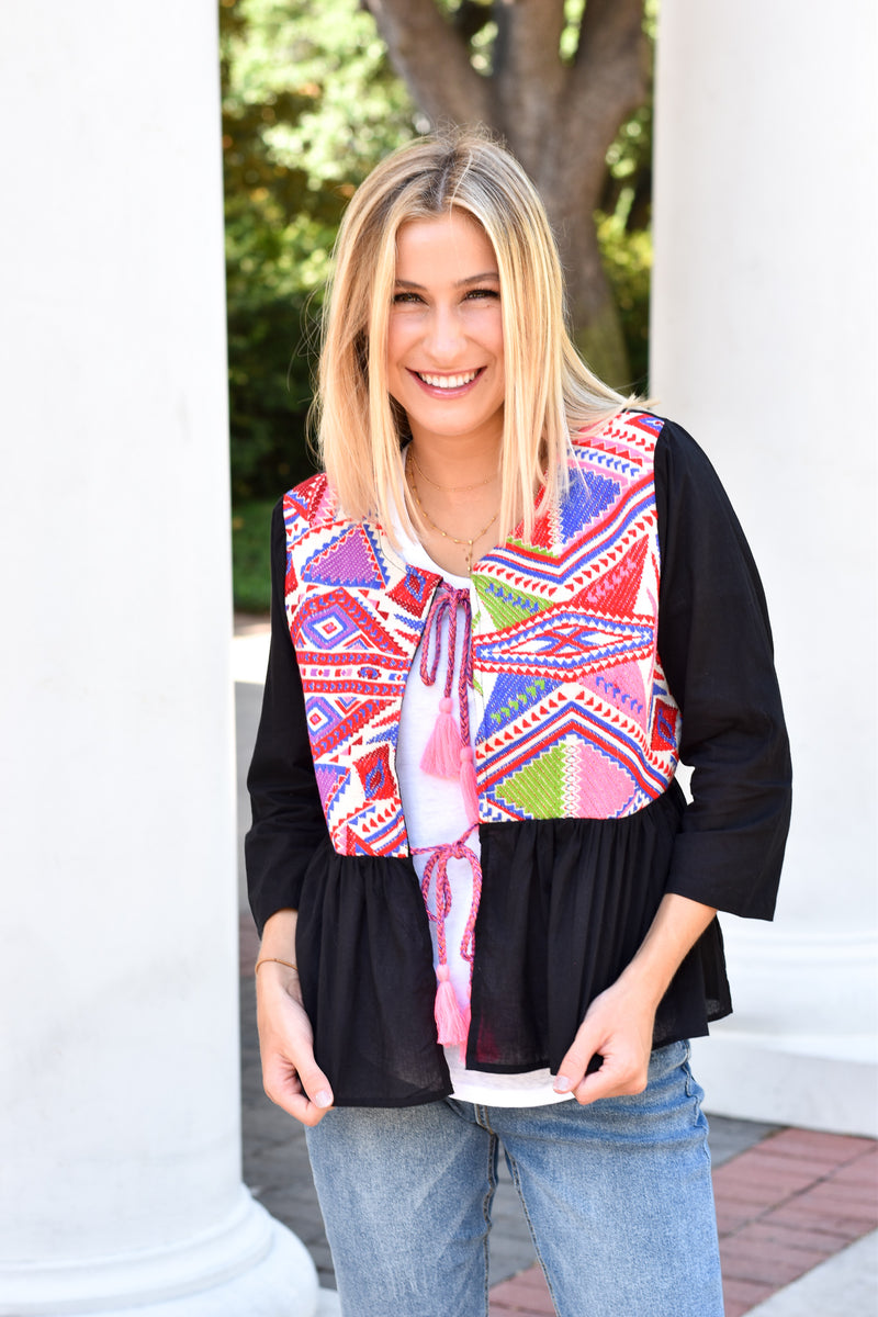 Tribal Time Top