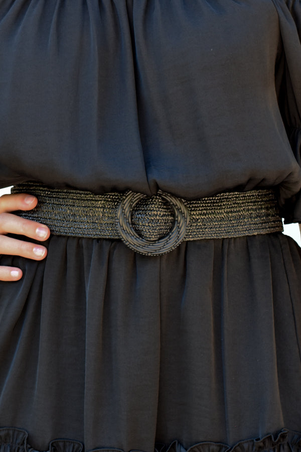 Summer Look Belt - Black