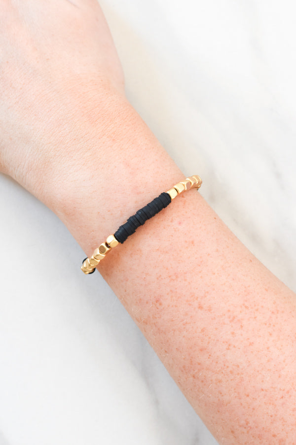 Beautifully Boho Bracelet - Black