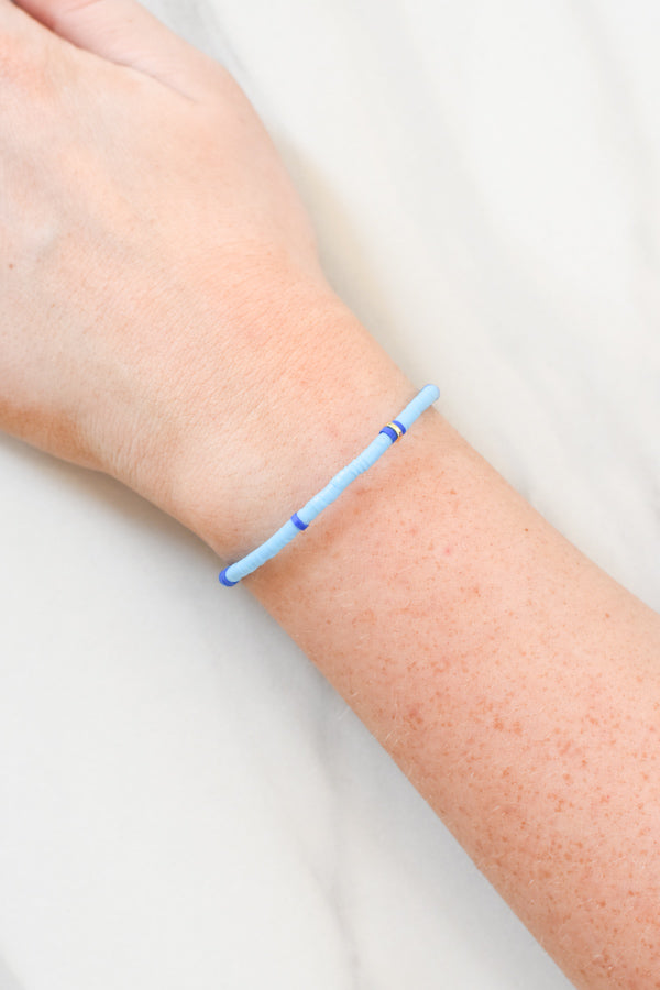 Sweet Stackable Bracelet - Light Blue