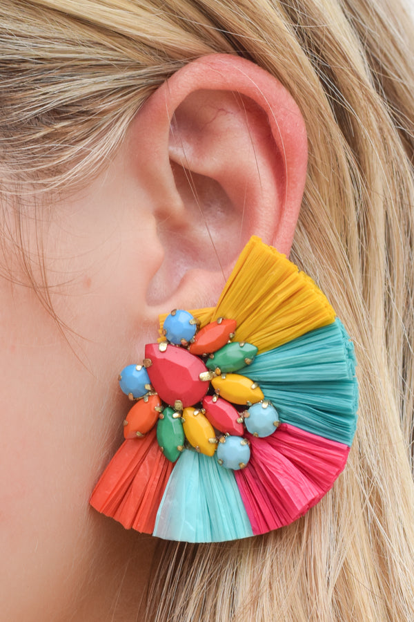 Happy Hour Earrings - Multi