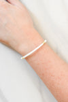 Sweet Stackable Bracelet - White