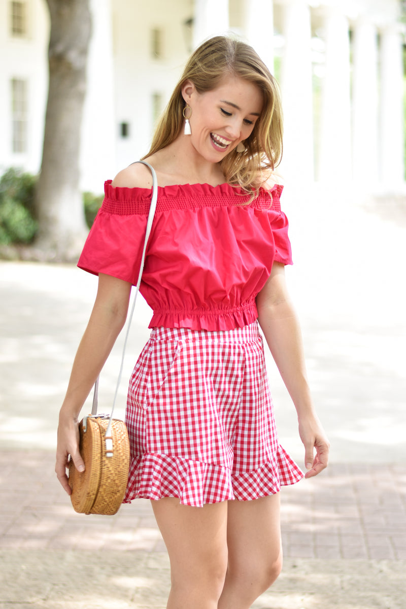 Get With Gingham Shorts