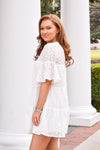 Thinking Of Spring Dress - White