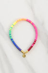 Sweet Stackable Bracelet - Ombre Rainbow