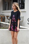 All A Flutter Embroidered Dress