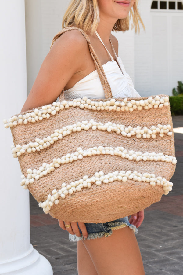 Beach Bound Bag - Natural