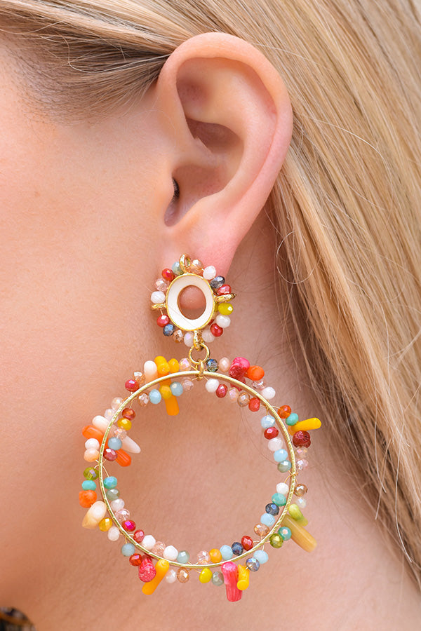 Chase The Rainbow Earrings - Multi