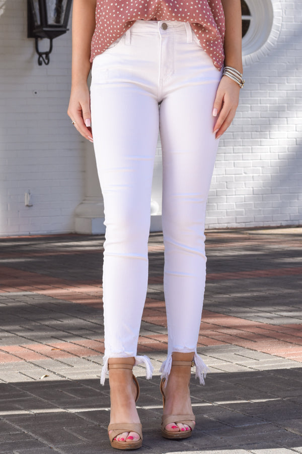 Summer Must Skinny Jeans - Bright White