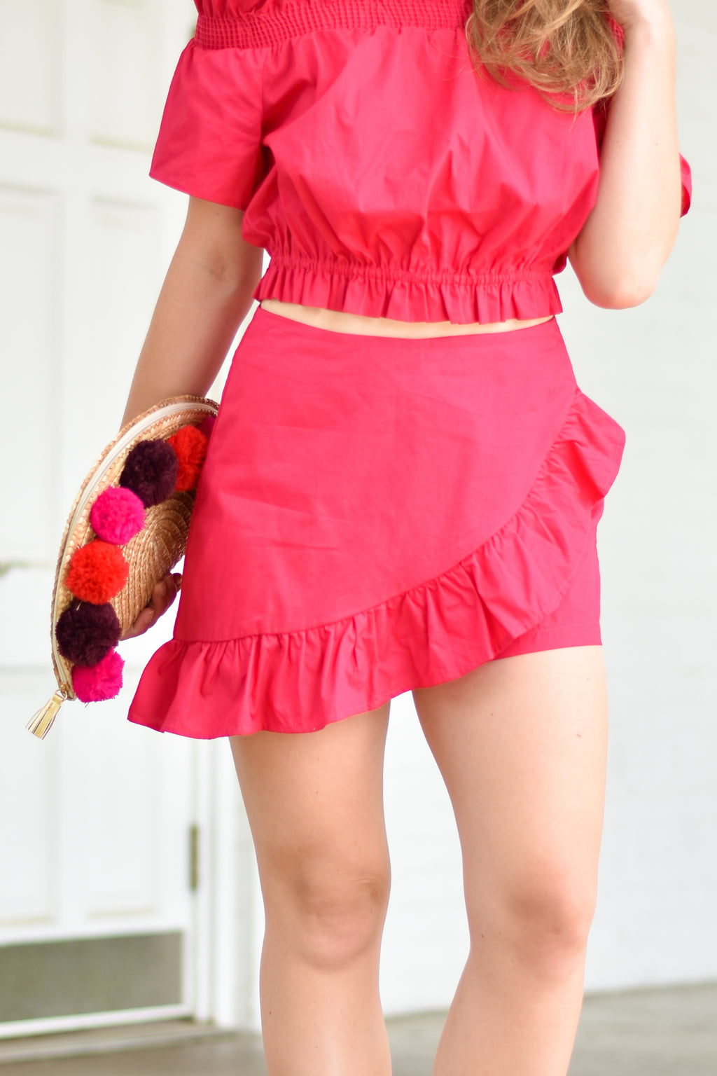Summer Dreams Fuchsia Skort