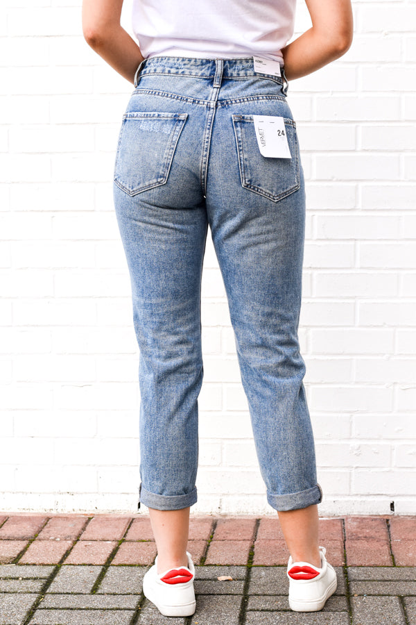 Call Your Mom Jeans - Medium Wash