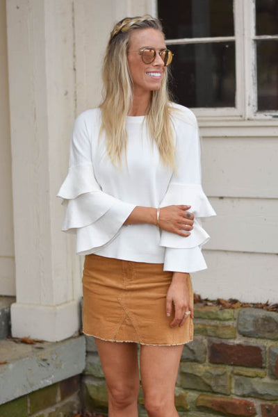 The Right Ruffle Top