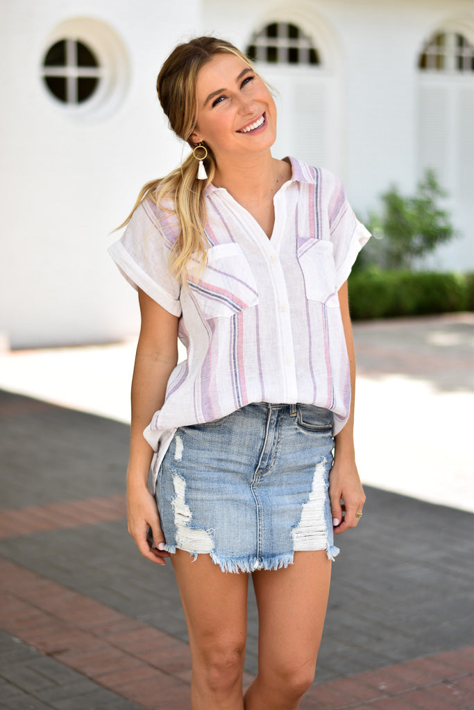 Simply Striped Top
