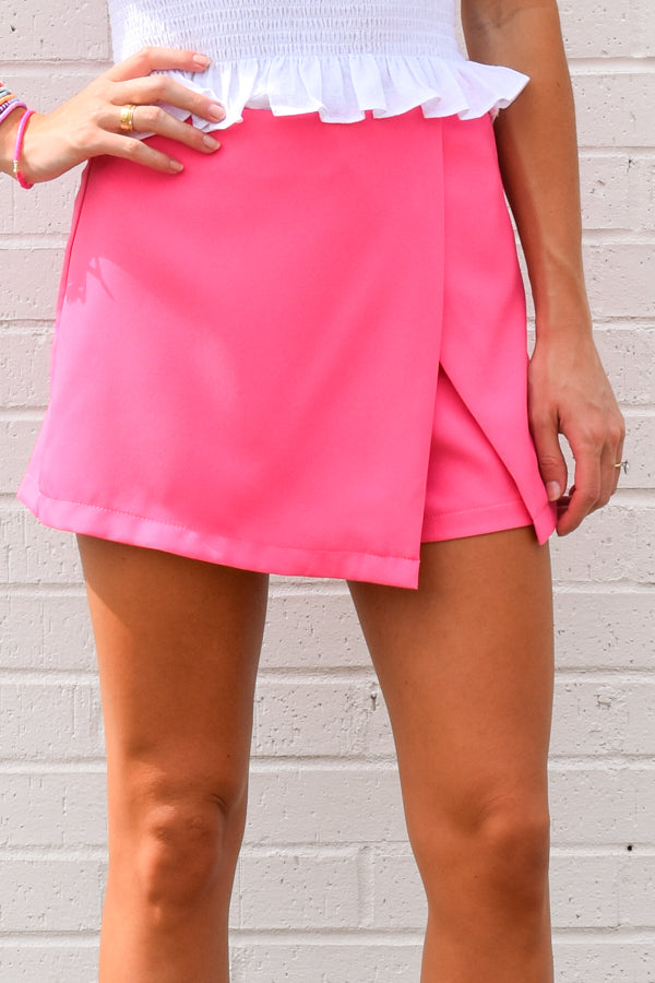 C'Mon Barbie Skort - Candy Pink