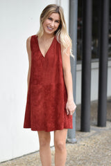 Free Spirit Suede Dress