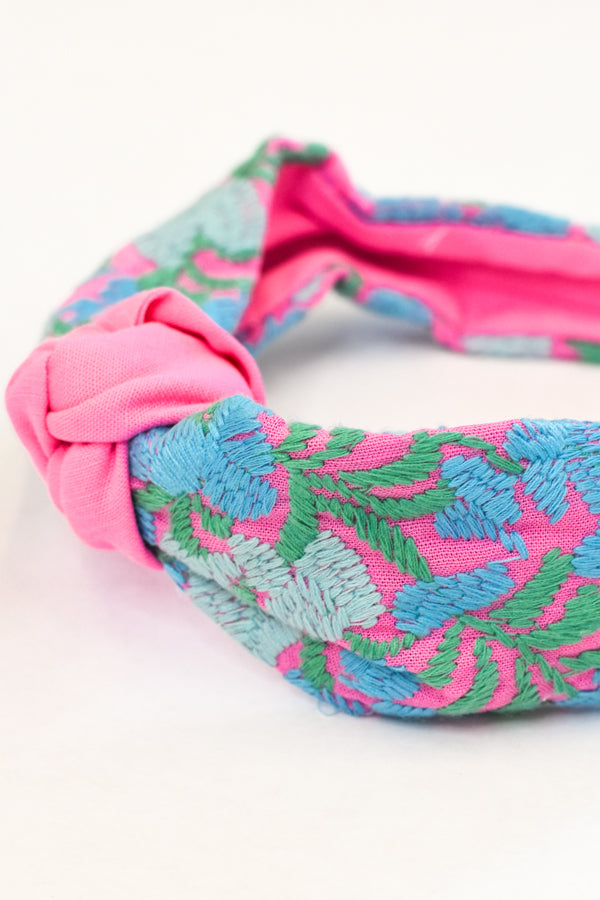 PRE-ORDER The Mandy Headband - Pink