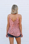 Wild Thing Top - Rose Leopard