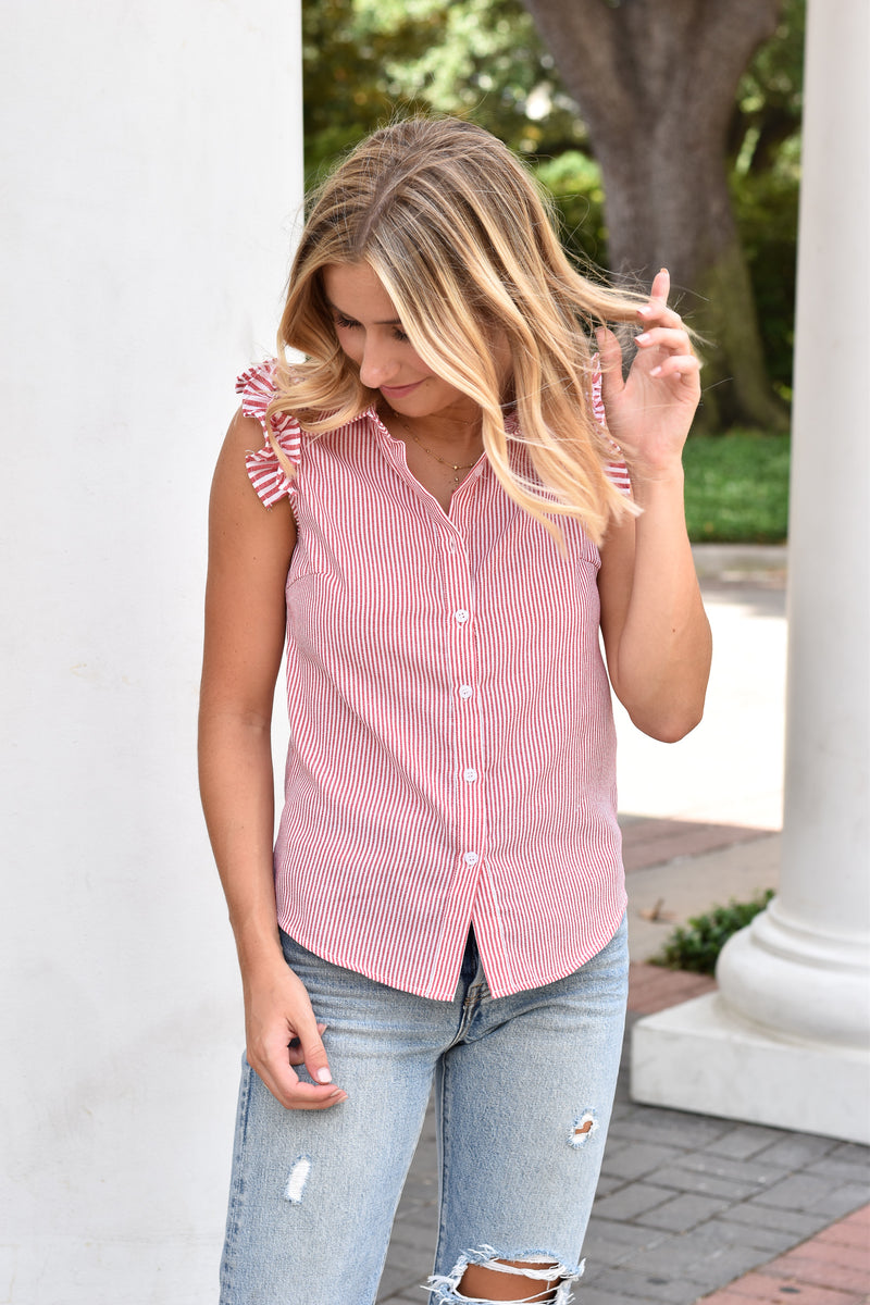 Preppy Time Top