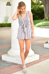Any Occasion Romper - Black