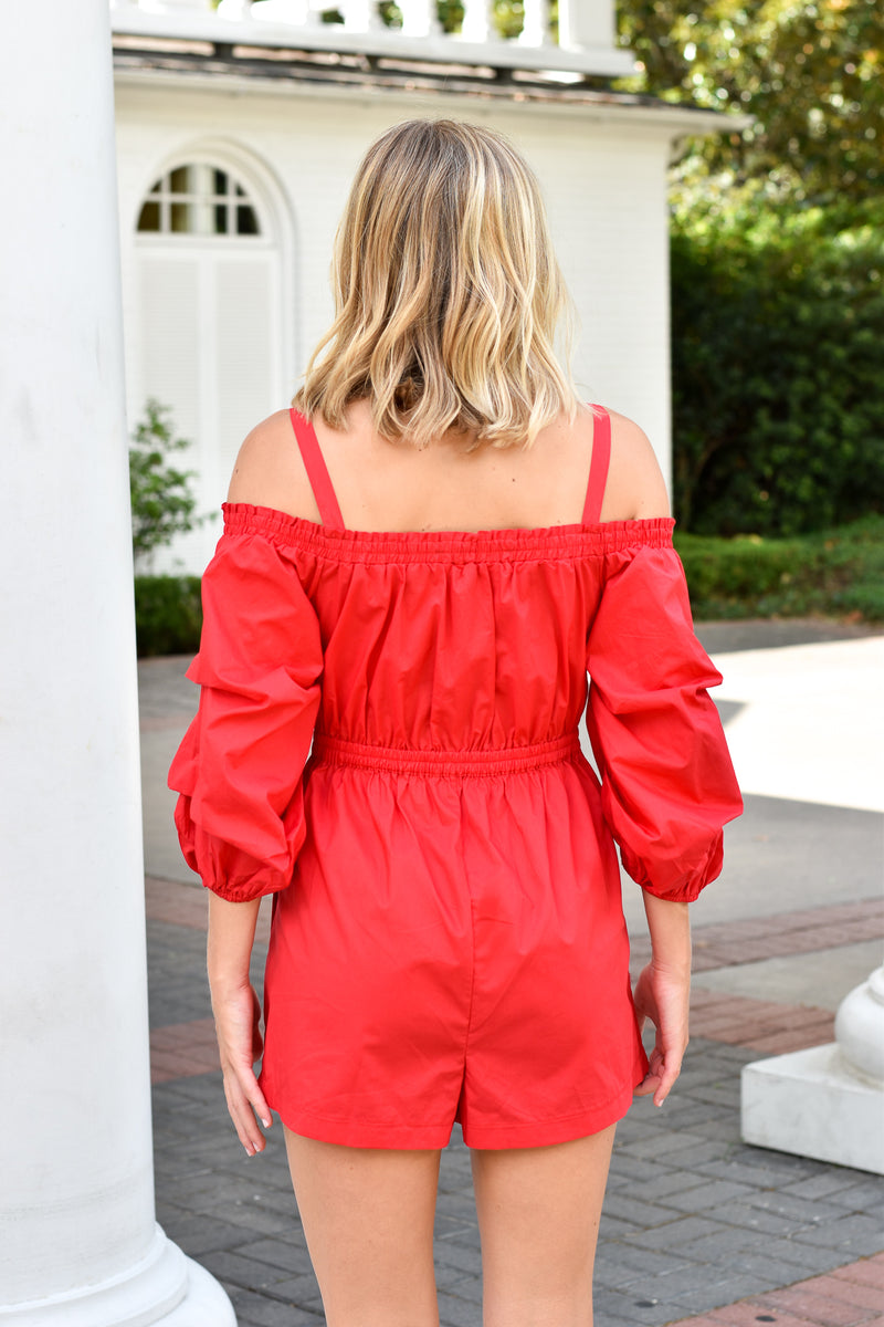 Red Hot Romper