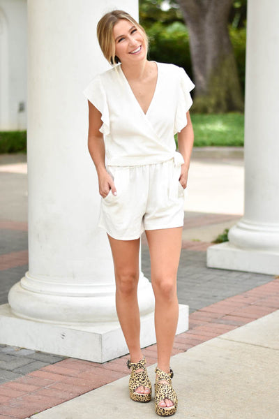 Sweet In The Streets Romper