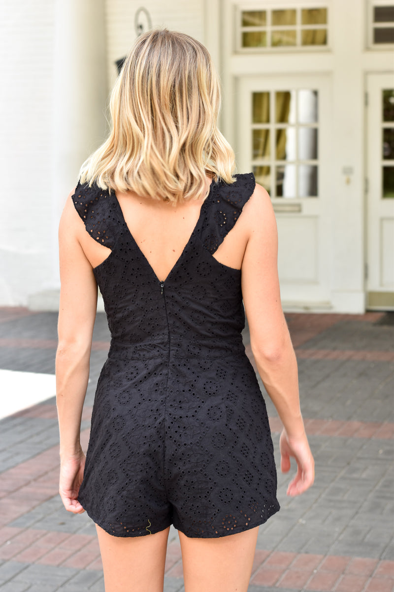Night On The Town Romper