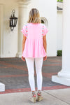 The Poppy Top - Light Pink