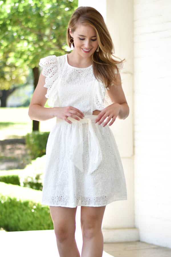 Lost In Wonderland Lace Dress