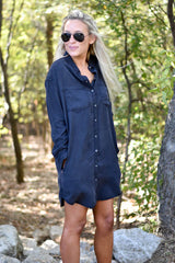 Keep It Casual Button Up Dress