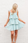 Once & Floral Dress - Mint