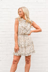 Strike Back Dress - Cream