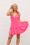 C'mon Summer Dress - Hot Pink