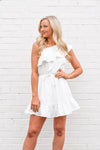 Cause For Applause Dress - White