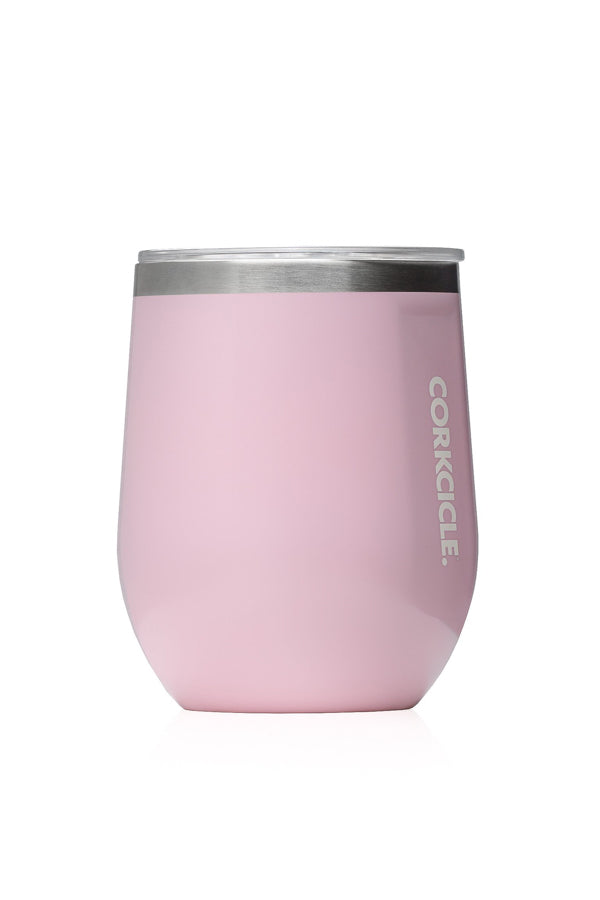 Stemless Corkcicle- Rose Quartz